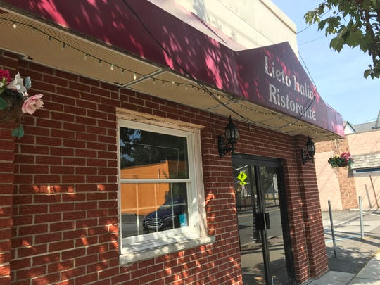 Lieto Italia Ristorante in New Milford has closed after nearly 20 years of operation.
