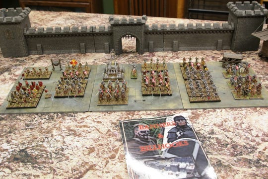 """The game """"Banners and Billhooks"""" includes a strong build-your-own-army component."""