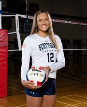 Scottsdale Christian Academy girls volleyball player Taylor Raiola