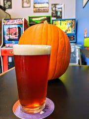 Sleepy Hollow's Revenge pumpkin pie beer from 8-Bit Aleworks.