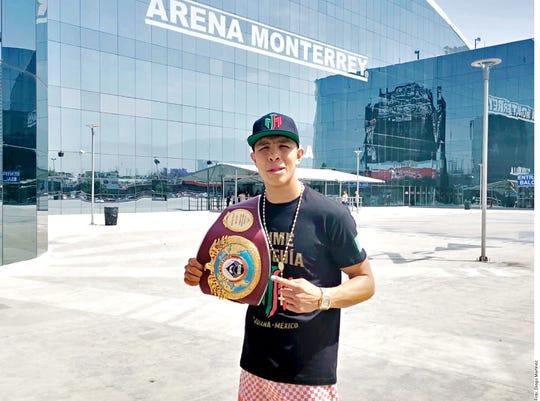 Jaime Munguía expondrá su título mundial este sábado.