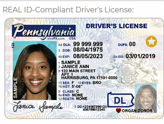 REAL ID-Compliant Driver's License