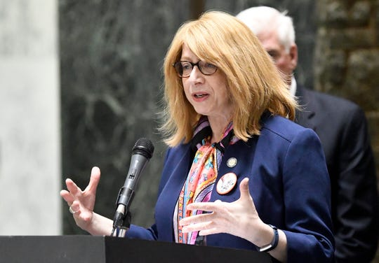 New York Assemblywoman Linda Rosenthal, D-Manhattan, said sexual-abuse victims are entitled to seek justice from religious institutions, regardless of what it may mean to the organizations' finances. She was the lead sponsor of the Child Victims Act.