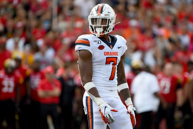 The Jaguars took their second defensive back on the second day of the NFL Draft in Syracuse safety Andre Cisco.