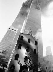 The building that housed St. Nicholas Greek Orthodox Church was constructed in Manhattan in 1832 and was purchased by five Greek families in 1919. The church was crushed by the collapse of the World Trade Center towers on Sept. 11, 2001.