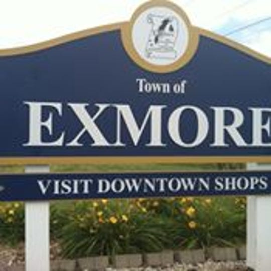 Exmore sign