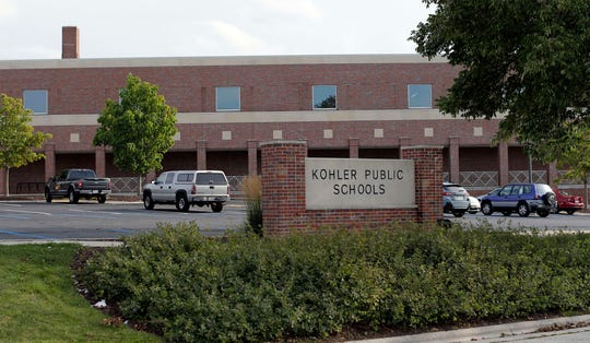The Kohler Schools complex as seen, Tuesday, September 10, 2019, in Kohler, Wis.