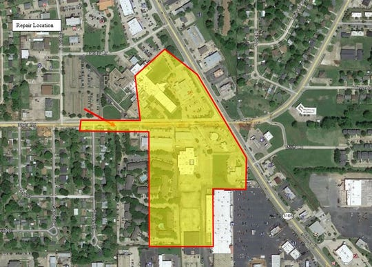 A boil advisory has been issued for a portion of Bossier City following a water main break.