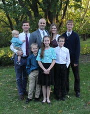 Cody and Amy Hirschi have six children including Braeden, Tanner, Bri, Max, Hudson and Carter.