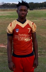 De'Quan Davis, 16, played youth football with the Tallahassee Warriors and attended Rickards High School. He was shot and killed Saturday, Sept. 7, 2019, outside the Regal Governor's Square movie theater.