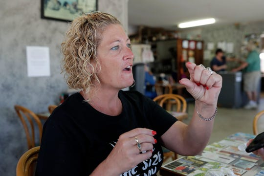Crystal Davis, manager of the Altha Diner, details the destruction caused by Hurricane Michael in Oct. 2018 and how the community came together to pick up the pieces.