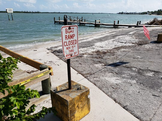 South Causeway Boat Ramp in Fort Pierce is closed until further notice.