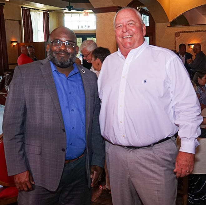 Boys & Girls Clubs of St. Lucie County CEO Will Armstead, left, and Chris Wadsworth, of Signature Property Management.
