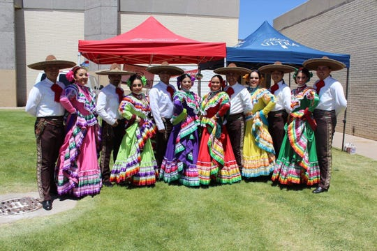 Ballet Folklorico Paso del Norte will perform Saturday at Vivamos Mexico show at the Chamizal National Memorial.