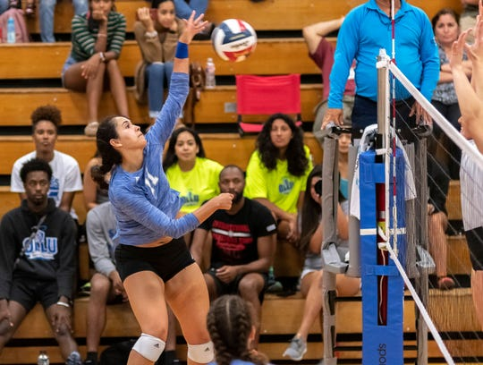 Former Eastlake volleyball player Anyssa Rivera has been a standout for Our Lady of the Lake University in college.
