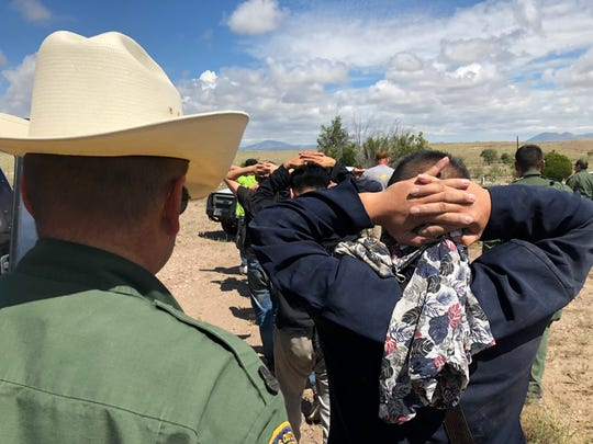 U.S. Border Patrol agents captured 10 Chinese nationals, who were illegally in the U.S., hiding in a shack at a Marfa cemetery.