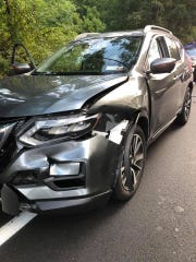 A driver and a bear collided on Route 202 in Ramapo on Sept. 12, 2019.