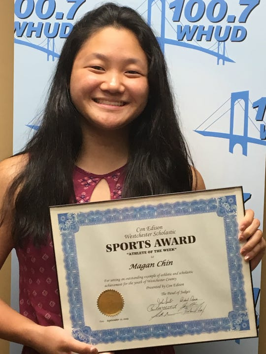 Scarsdale's Magin Chin is the ConEd Athlete of the Week.