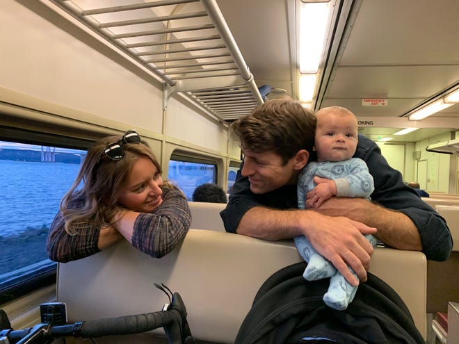 MSNBC anchor Katy Tur welcomed her first child, a boy, in April with her husband, CBS News correspondent Tony Dokoupil. She is now speaking out for better paid leave policies.