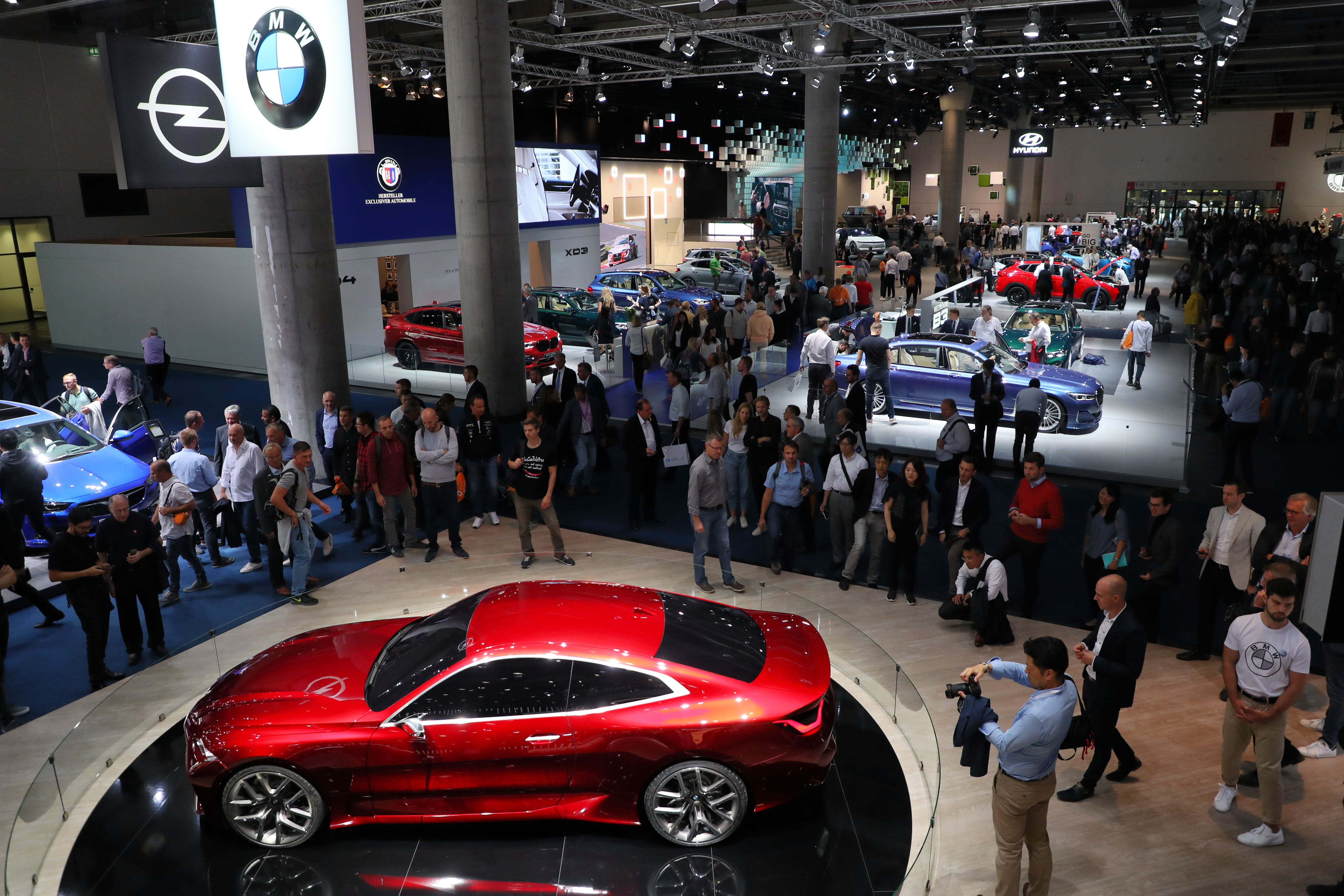 Ford, Porsche, Land Rover, BMW among can't-miss vehicles of the Frankfurt Motor Show