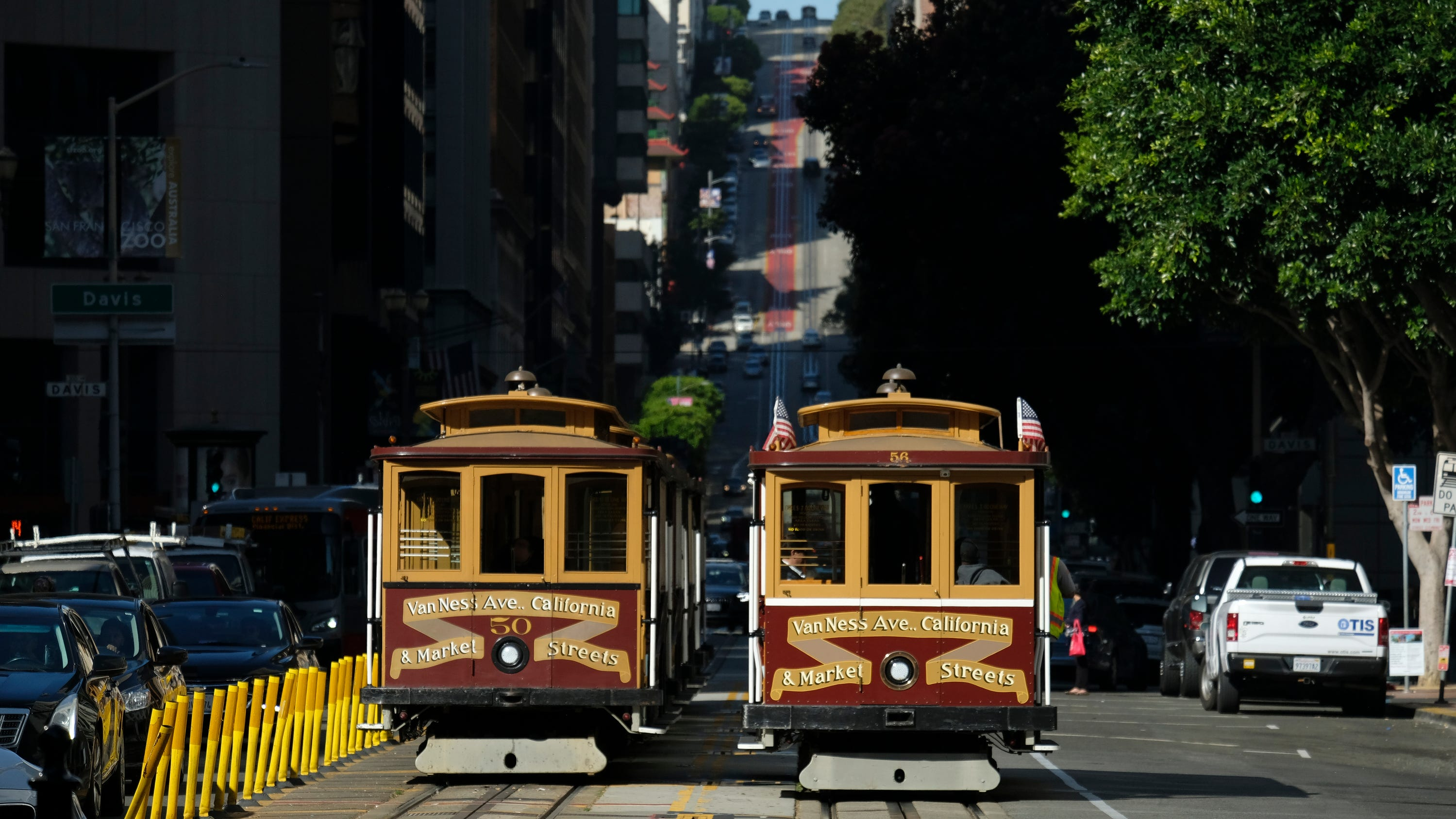 San Francisco Tourists Beware Cable Cars Airport To