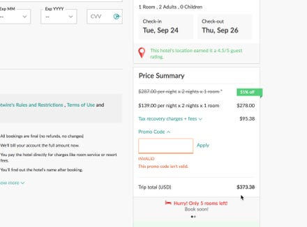 HotWire's hidden fees jack up a room rate