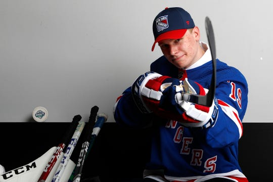 Kaapo Kakko was taken No. 2 overall by the Rangers in the NHL draft.