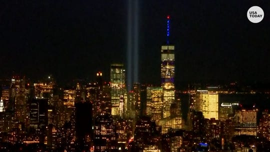 New York City remembers victims of 9/11 with annual light tribute
