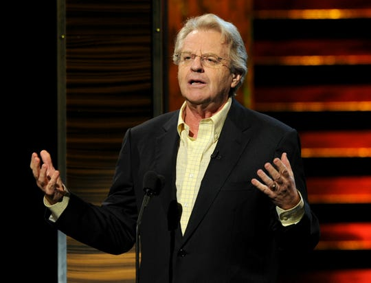 "Jerry Springer has a new show, ""Judge Jerry."""