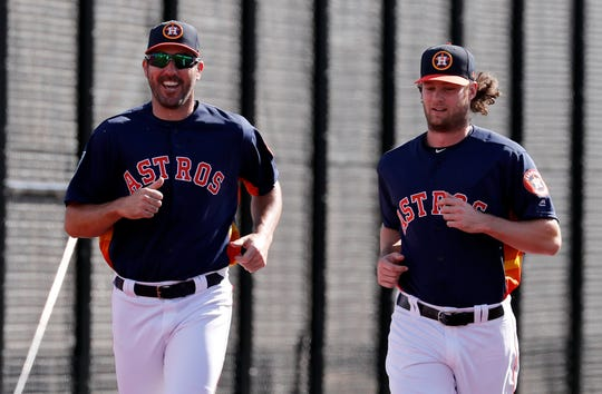 Justin Verlander and Gerrit Cole give the Astros one of the top rotations in baseball>