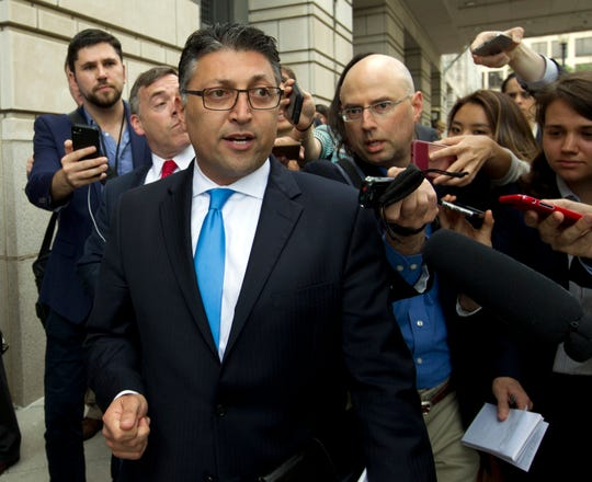 Assistant Attorney General Makan Delrahim of the Antitrust Division of the U.S. Department of Justice.