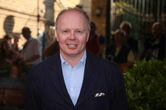 """Actor Jason Watkins poses for photographers upon arrival at the """"Hampstead"""" premiere on June 14, 2017."""