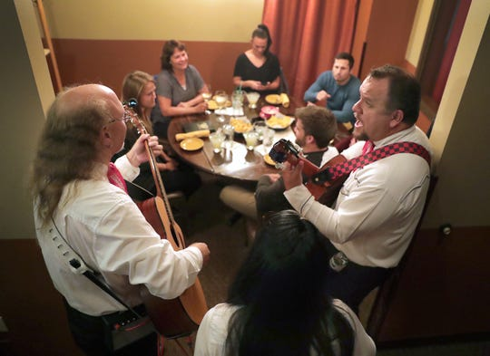 The Three Amigos mariachi band played  for customers last week at Osorio's Latin Fusion in Grand Chute. The restaurant is one of 18 participating in the Fox Valley Restaurant Week from Sept. 19-15.