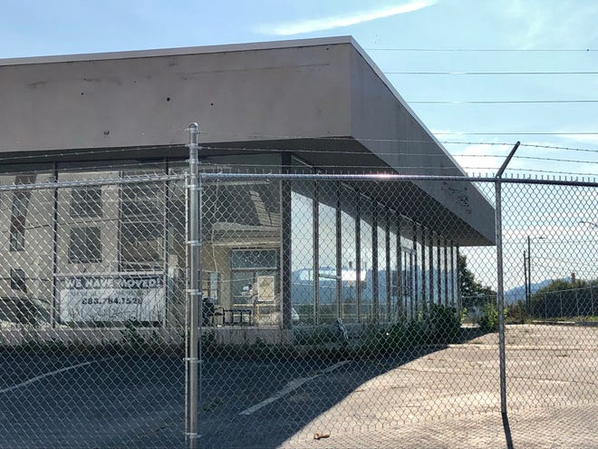 Demolition of the former Hunter Volvo car dealership will start this month, making way for a new Duke Energy substation. Construction should start in 2020.