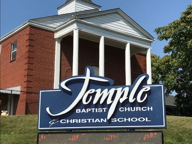Most students attend Temple Baptist in west Asheville with financial assistance of public vouchers.