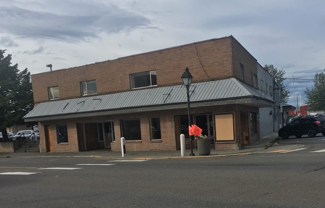 The building at 639 Bay Street in Port Orchard, owned by an investment group, is being demolished to make way for new development.