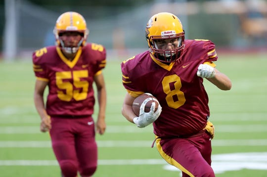 KIngston's football team finished 4-4 during the 2019 season, including wins over North Mason and Port Angeles.