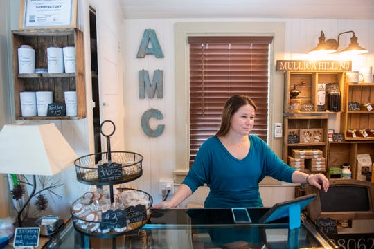 Founder Cheyanne Forgatch inside The Artisan Marshmallow storefront in Mullica Hill, N.J.
