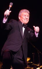 -  Singing icon Bobby Rydell performs at an Atlantic City casino