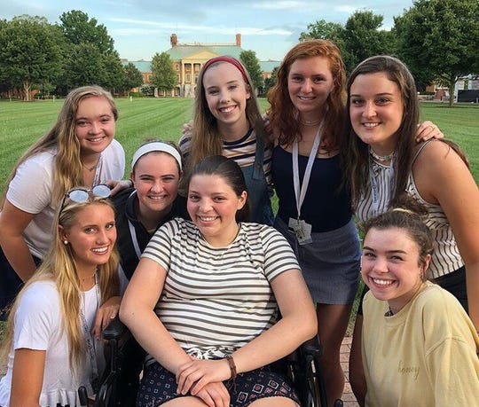 Eight Mount Saint Mary Academy students attended Operation Smile's ISLC confrence: Grace Cull, Belle Rizzi, Grace Hogan, Caroline Brady, Claire Loder, Kathryn Nastasi, Abby Okupski and Christine Polakiewiez.