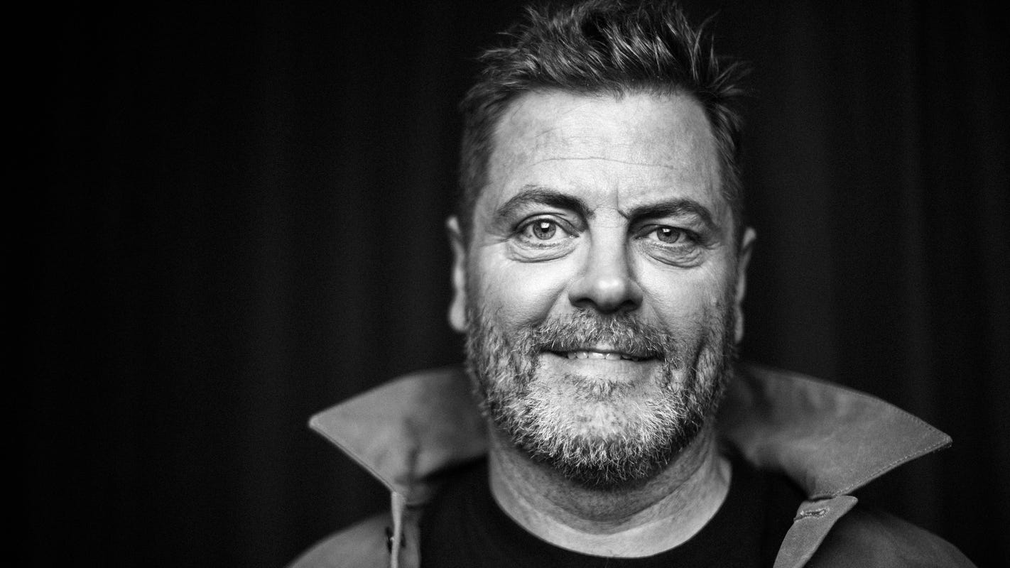 Nick Offerman (aka Ron Swanson) on tailgating at Iowa State, his love of Quad Cities riverboat casinos and what to expect from his new tour