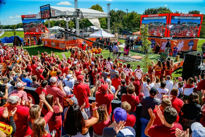 ESPN's College Football GameDay was in Ames for the 2019 Cy-Hawk football game.