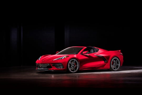 2020 Chevrolet Corvette Stingray is the most radical re-engineering in the car's history.