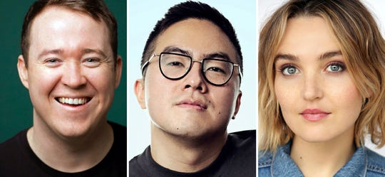 """Shane Gillis, Bowen Yang and Chloe Fineman will join the cast of """"Saturday Night Live,"""" premiering its 45th season on Sept. 28."""