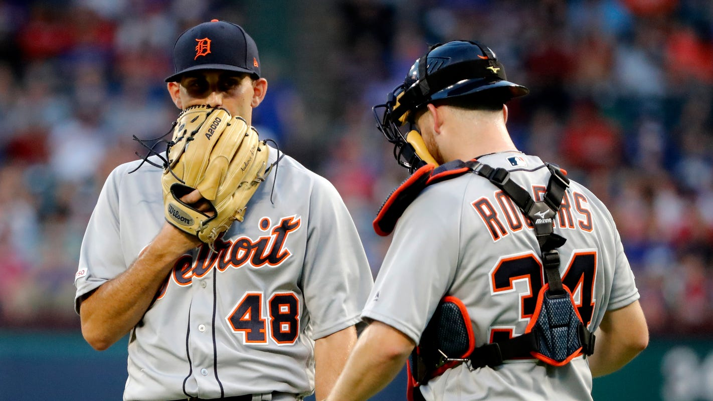 Tigers' Jake Rogers, Matthew Boyd working to get in sync: 'It's just about catching him more'