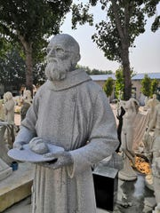 The life-sized statue of Blessed Solanus Casey is slated to be unveiled at Mt. Elliott Cemetery in Detroit on Nov. 1.