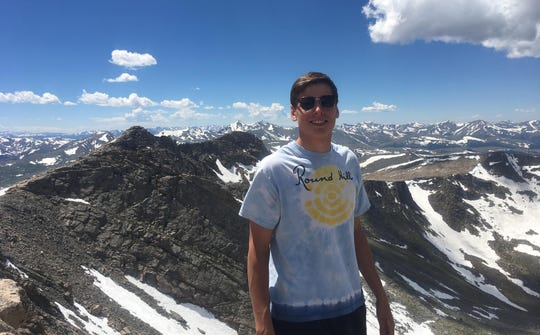 Finnegan Daly, seen here atop Mount Evans, died from a gunshot would Jan. 14, 2018, at an off-campus house near the Colorado State University campus. The 21-year-old was entering the spring semester of his senior year.