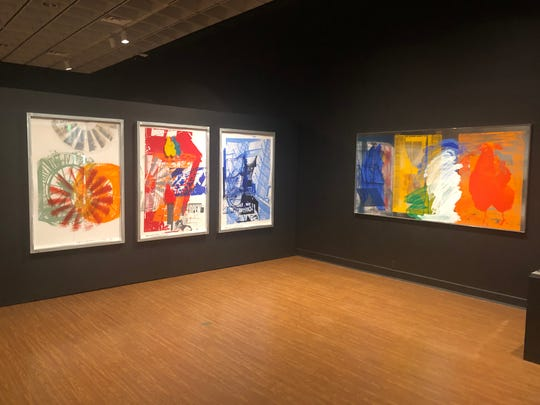 "The ""Rauschenberg 40"" exhibit focuses on work Robert Rauschenberg created during his decades living on Captiva Island."