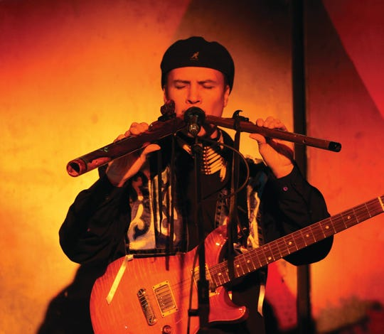 International touring artist Wade Fernandez will perform as part of a concert of contemporary Native Americana music on Sept .28 at Door Community Auditorium in Fish Creek.