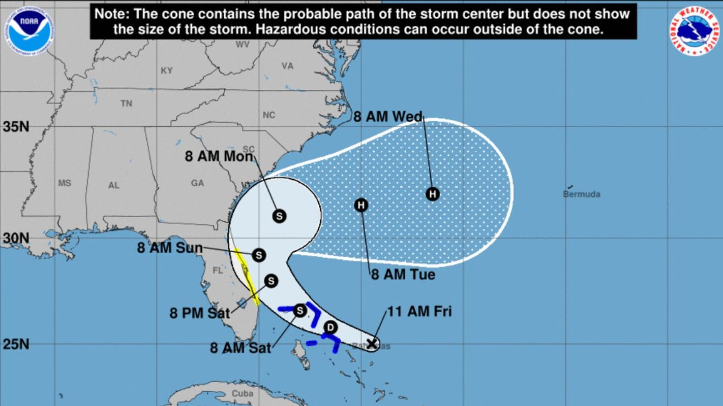 'Humberto' is brewing. Here's how another tropical storm could affect South Carolina